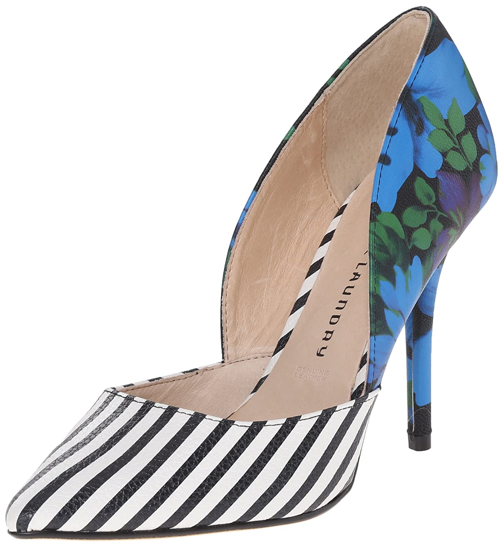 Fashion Thirsty Womens Girls Flat Low Heel Loafer Shoes Stripe Smart Work School Size