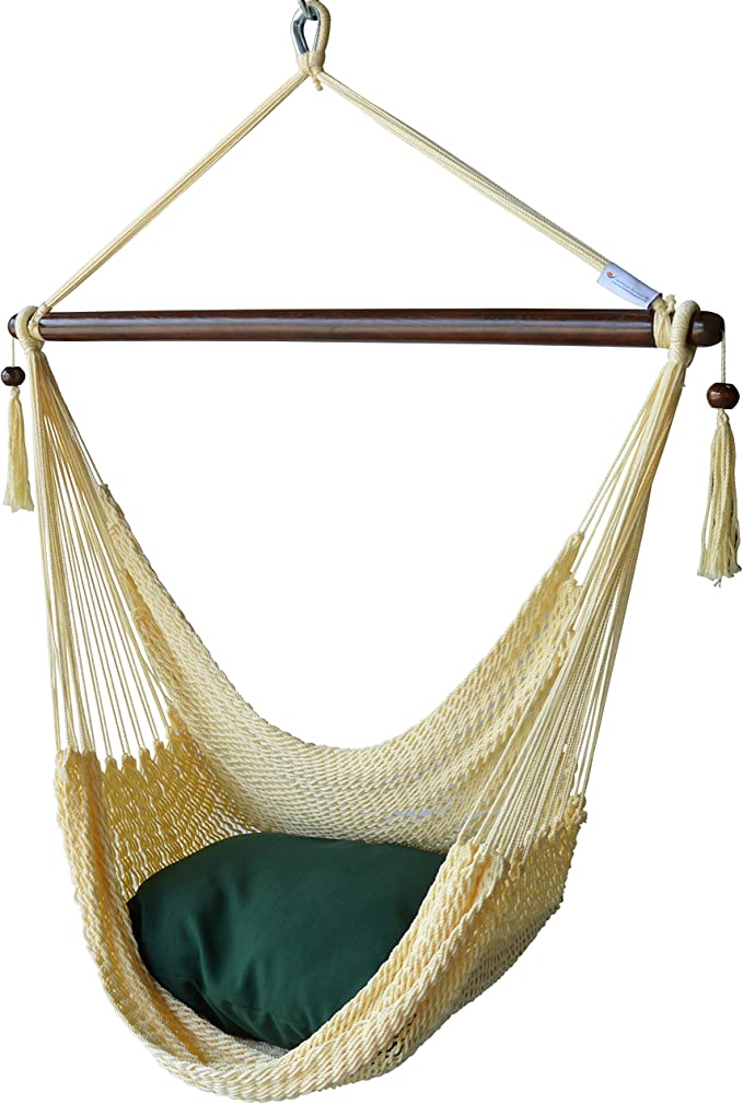 Caribbean Hammocks Chair – The Hammock Chair with Foot Rest