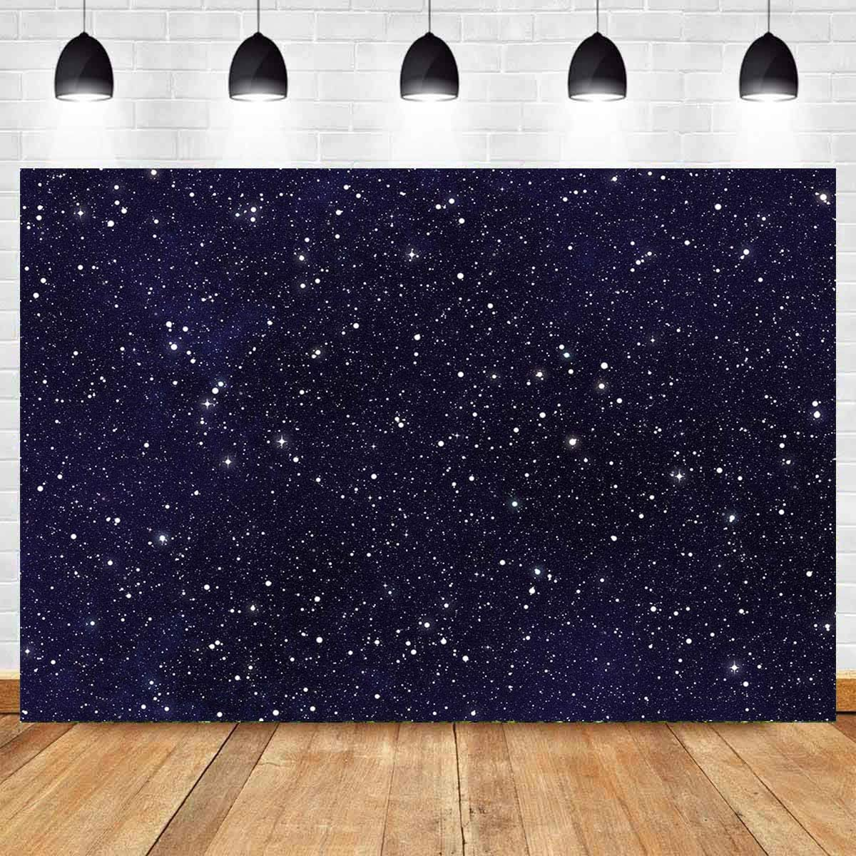 7X5FT Galaxy Photo Backdrop Starry Sky Universe Planet Outer Space ...