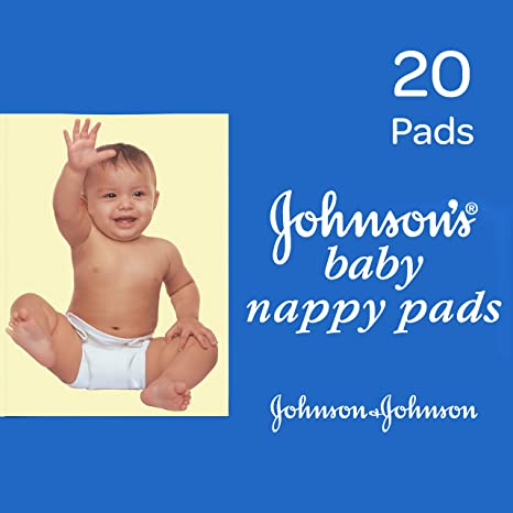 60a4ad176a4 Image Unavailable. Image not available for. Colour  Johnson s Baby Nappy  Pads ...