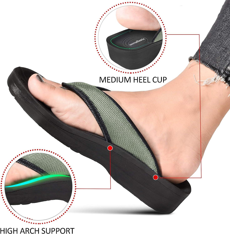 AEROTHOTIC Womens Strait Orthotic Thong Sandals