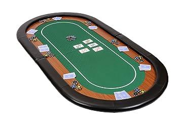 Pliable De Poker Tissu Riverboat En Gaming Champion Dessus Table NPyvnO8m0w