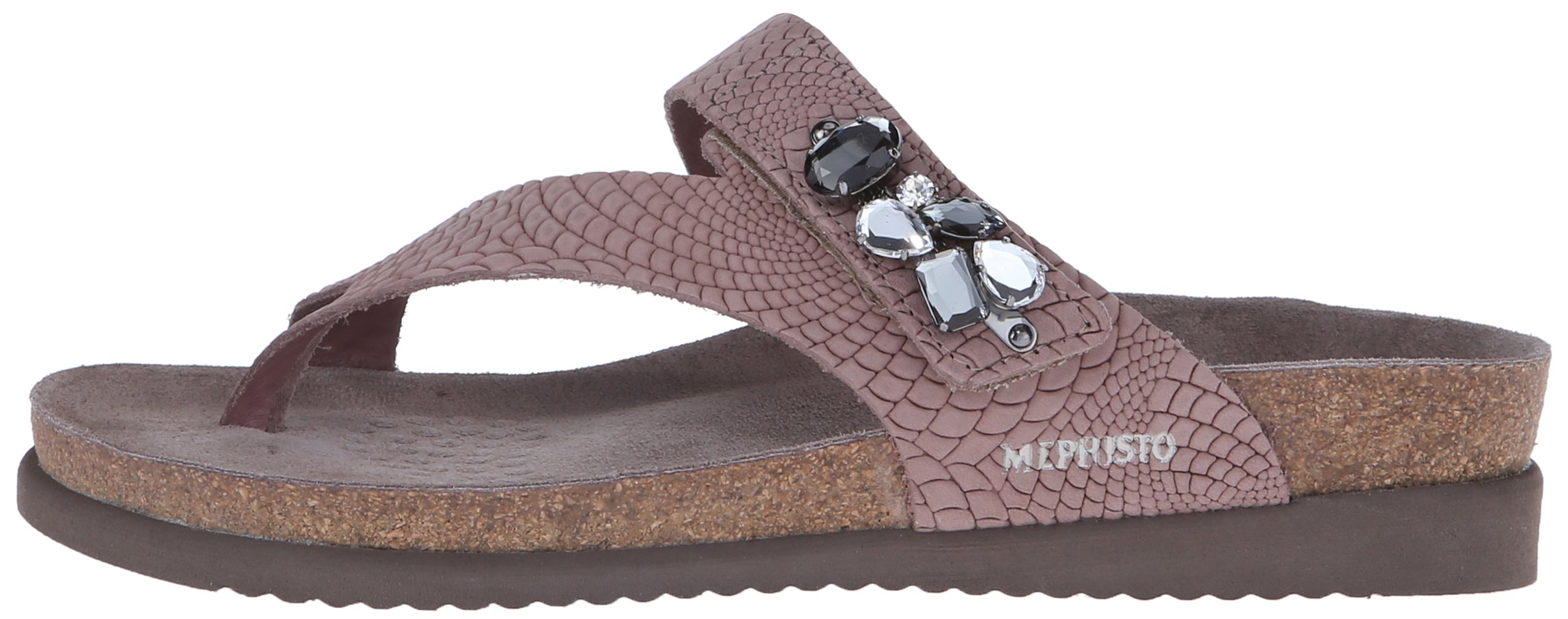 Mephisto Women's Halice Flip Flop, Old Pink Rio, 9 M US by Mephisto (Image #5)