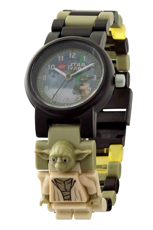 LEGO Star Wars 8021032 Yoda Kinder-Armbanduhr mit Minifigur und ...