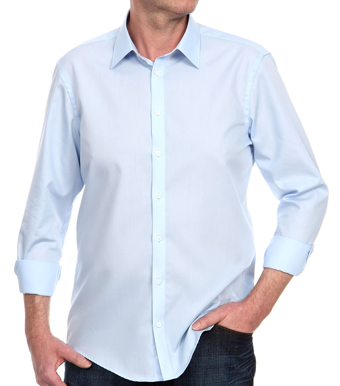 TALLA 36. Venti - Camisa slim fit de manga larga para hombre