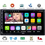 [NEW] ATOTO A6 2DIN Android Car Navigation Stereo with Dual Bluetooth & 2A Charge -Premium A62711PB 1G/32G Car Entertainment Multimedia Radio,WiFi/BT Tethering internet,support 256G SD &more