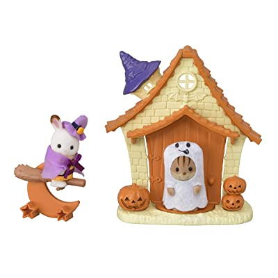 Calico Critters Halloween Playhouse: Toys & Games