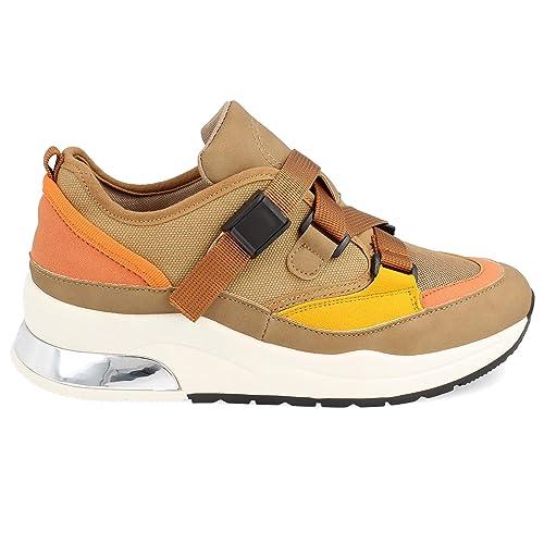 Zapatillas Plataforma de Mujer Casual Sneakers Fashion Primavera Verano 2019: Amazon.es: Zapatos y complementos
