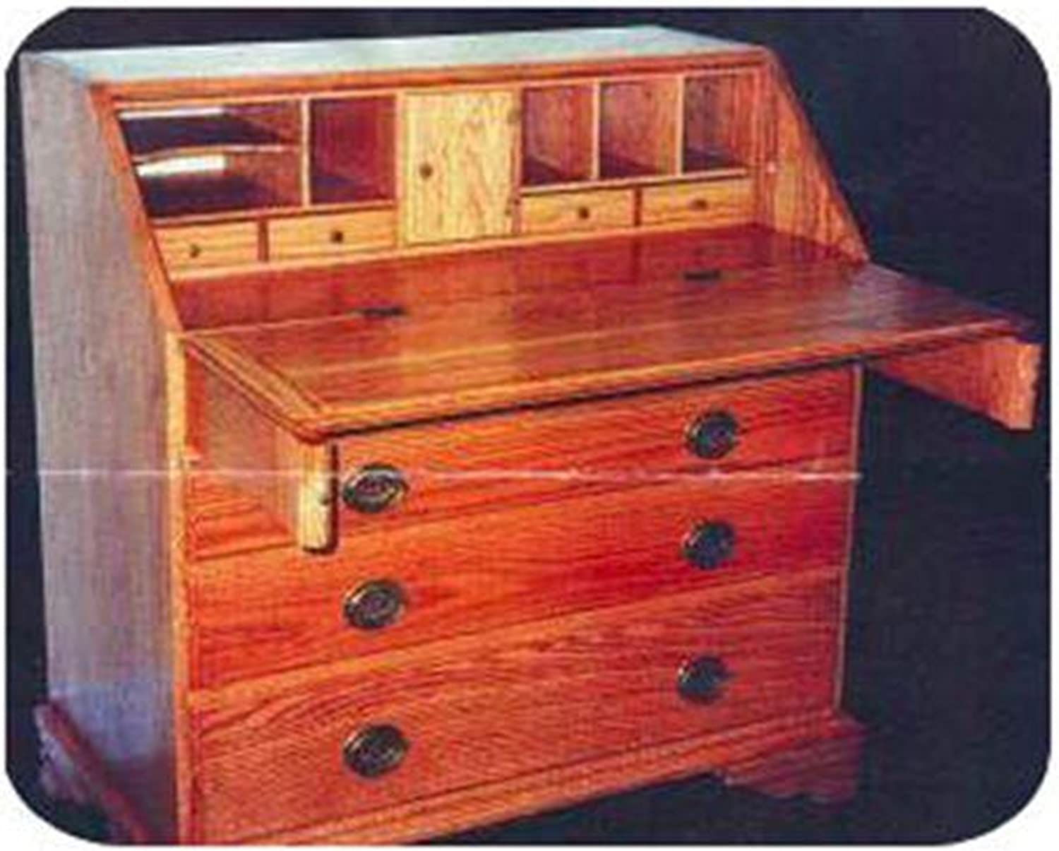 Woodworking Project Paper Plan To Build Drop Front Desk Indoor Furniture Woodworking Project Plans Amazon Com