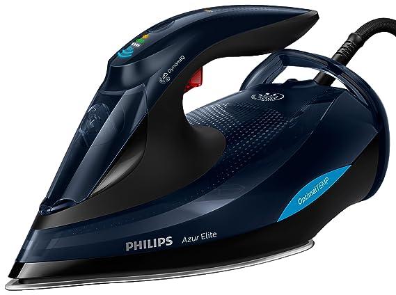 Philips Plancha de Vapor con tecnología OptimalTEMP GC5036/20, 3000 W, 0.35 litros, Negro: Amazon.es: Hogar
