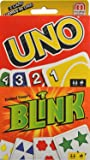 UNO Classic Reinhard Staupe's BLINK card Game Bundle 2 Game Pack