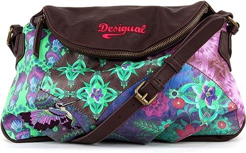 Desigual Bols Allegra Soho Violeta Mistic Amazon Co Uk Shoes Bags