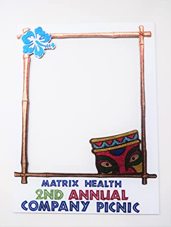 Amazon.com: Photo Booth Party Props Polaroid Inspired Frame MD F ...
