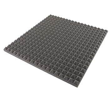 50 cm x 50 cm x 3 cm - ignífuga. - Espuma acústica, pisos) Espuma acústica, acústica aislamiento: Amazon.es: Bricolaje y herramientas