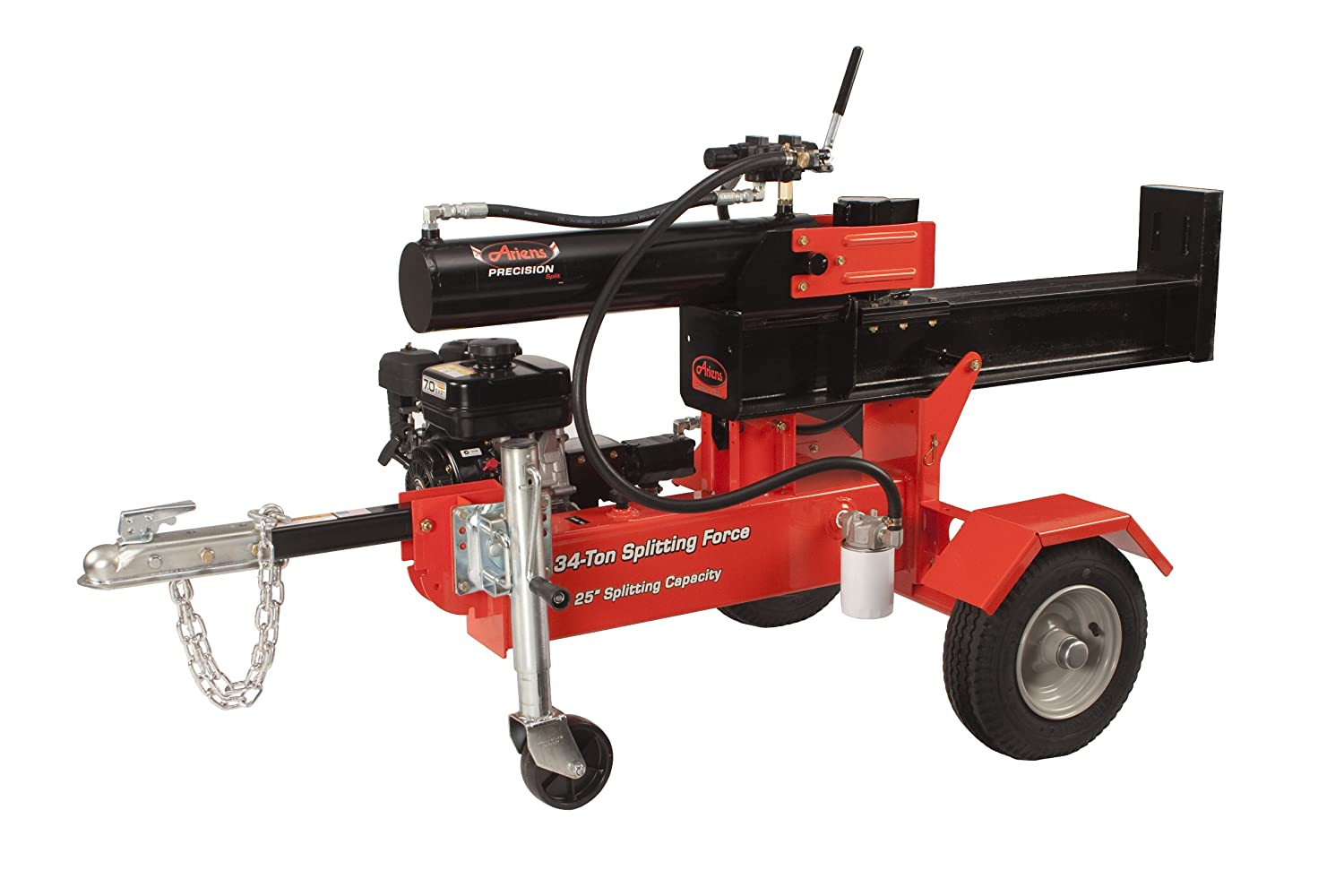 ariens log splitter review