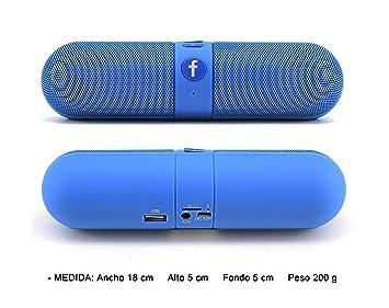 Tragbarer Bluetooth Lautsprecher Soundbox Soundstation Musikbox HiFi Stereo AUX