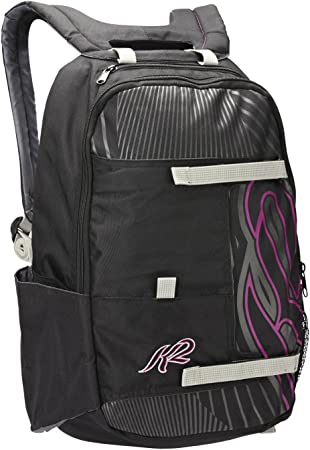 K2 Sports Alliance Pack W Damen Inline Skate Rucksack Schwarz Lila 18 L Amazon Co Uk Sports Outdoors