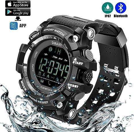 Reloj Deportivo Inteligente (Podómetro, Entrenamiento Fitness ...