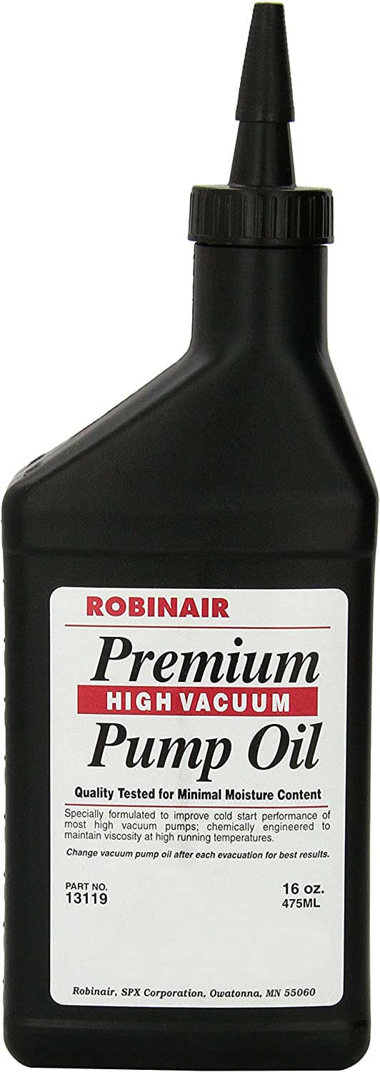 Robinair (13119) Premium High Vacuum Pump Oil, Pack of 1