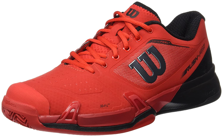 Wilson Wrs322640e, Zapatillas de Tenis Hombre, Rojo (Wilson Red/Black/Barbados Cherry), 41 EU