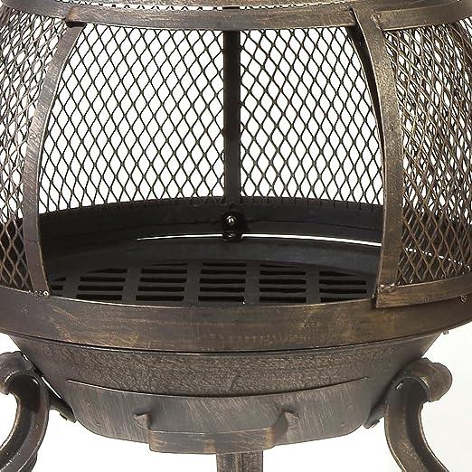 Amazon Com Deckmate Sonora Outdoor Chimenea Fireplace Model