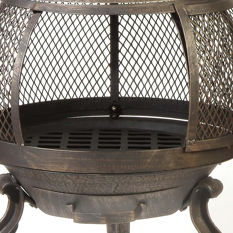 Deckmate Sonora Outdoor Chimenea Fireplace Model 30199 Ebay