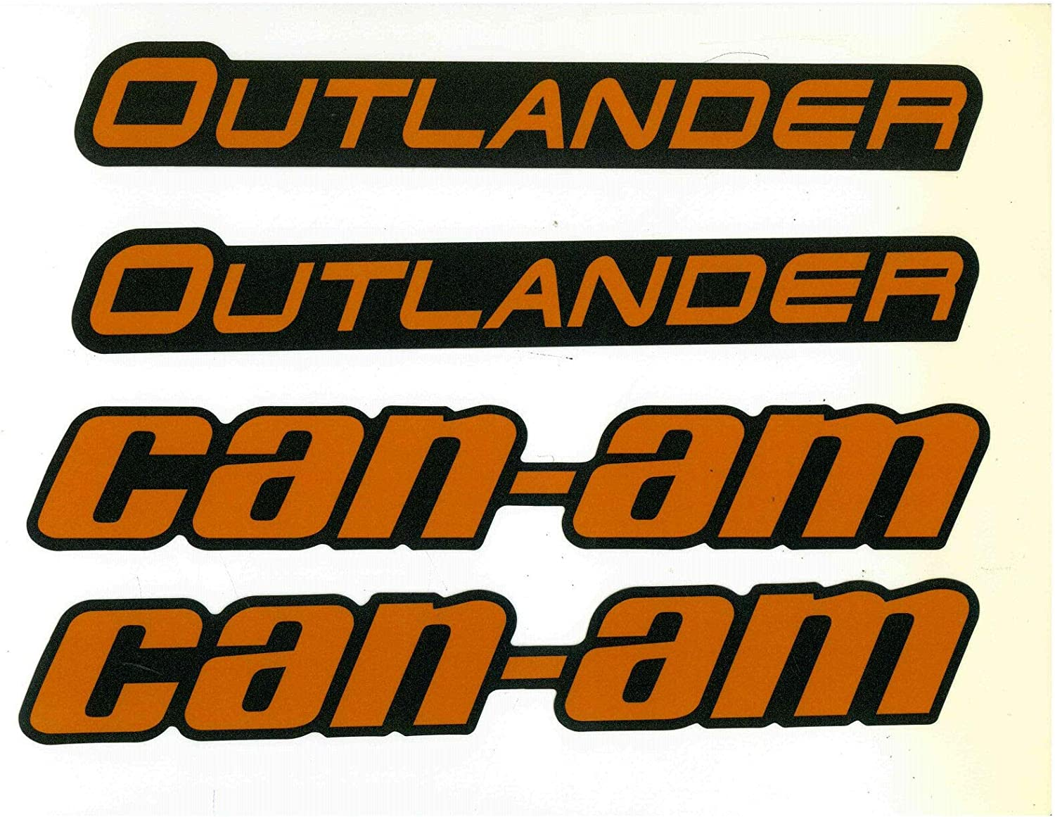 Can-Am 2007-2014 Outlander 400 Outlander 800 Decal Can Am 704901271 New Oem