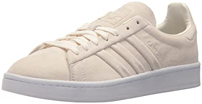 brand new e387b b5f92 adidas Originals Mens Campus Stitch and Turn, Chalk WhiteChalk WhiteWhite ,