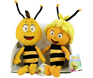 Biene Maja - Peluches de la Abeja Maya y Willy
