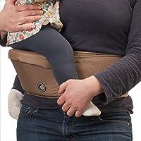Hippychick Hipseat bärsele – den enkla, icke-krångla babybäraren som tar hand om din rygg – kaffe
