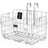 PedalPro Silver Wire Fold Out Bicycle Basket