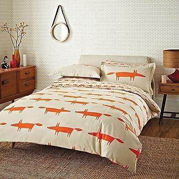 Scion Mr Fox Bettwasche Set Sng Amazon De Kuche Haushalt