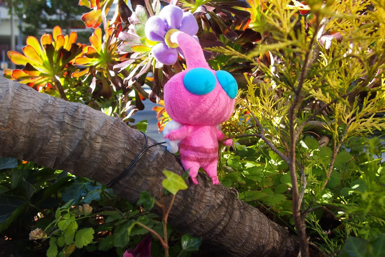 Pikmin PK05 Wing Pikmin Pink Plush Doll 15cm