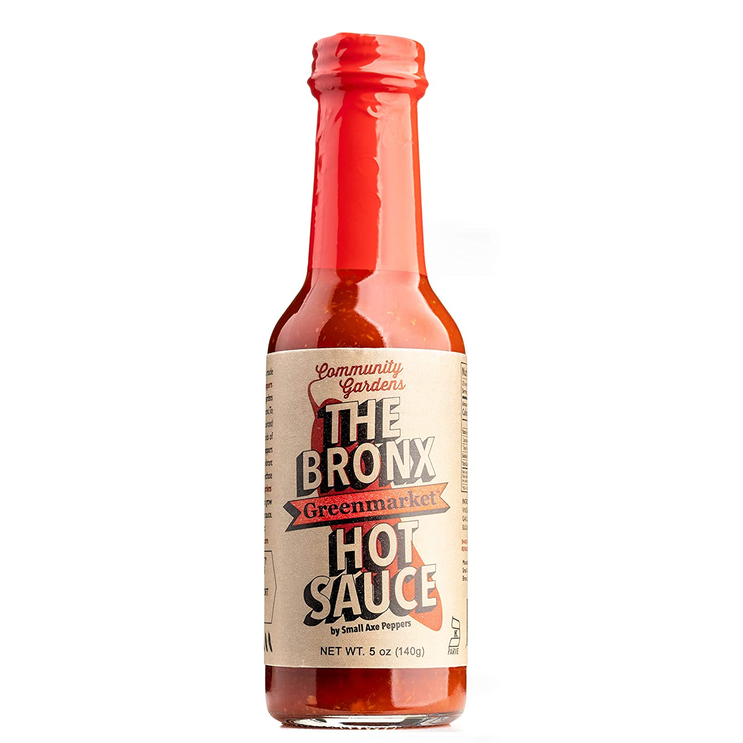 Small Axe Peppers The Bronx Greenmarket RED Hot Sauce, 5 oz
