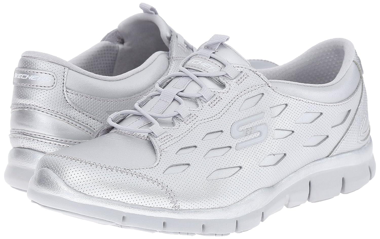Skechers Sneaker Sport Women's Gratis Bungee Fashion Sneaker Skechers B017OL26CM 6 B(M) US|Silver d7c33b