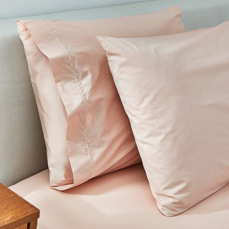 Splendid Home Collection Sheet Set Queen Pink Beige