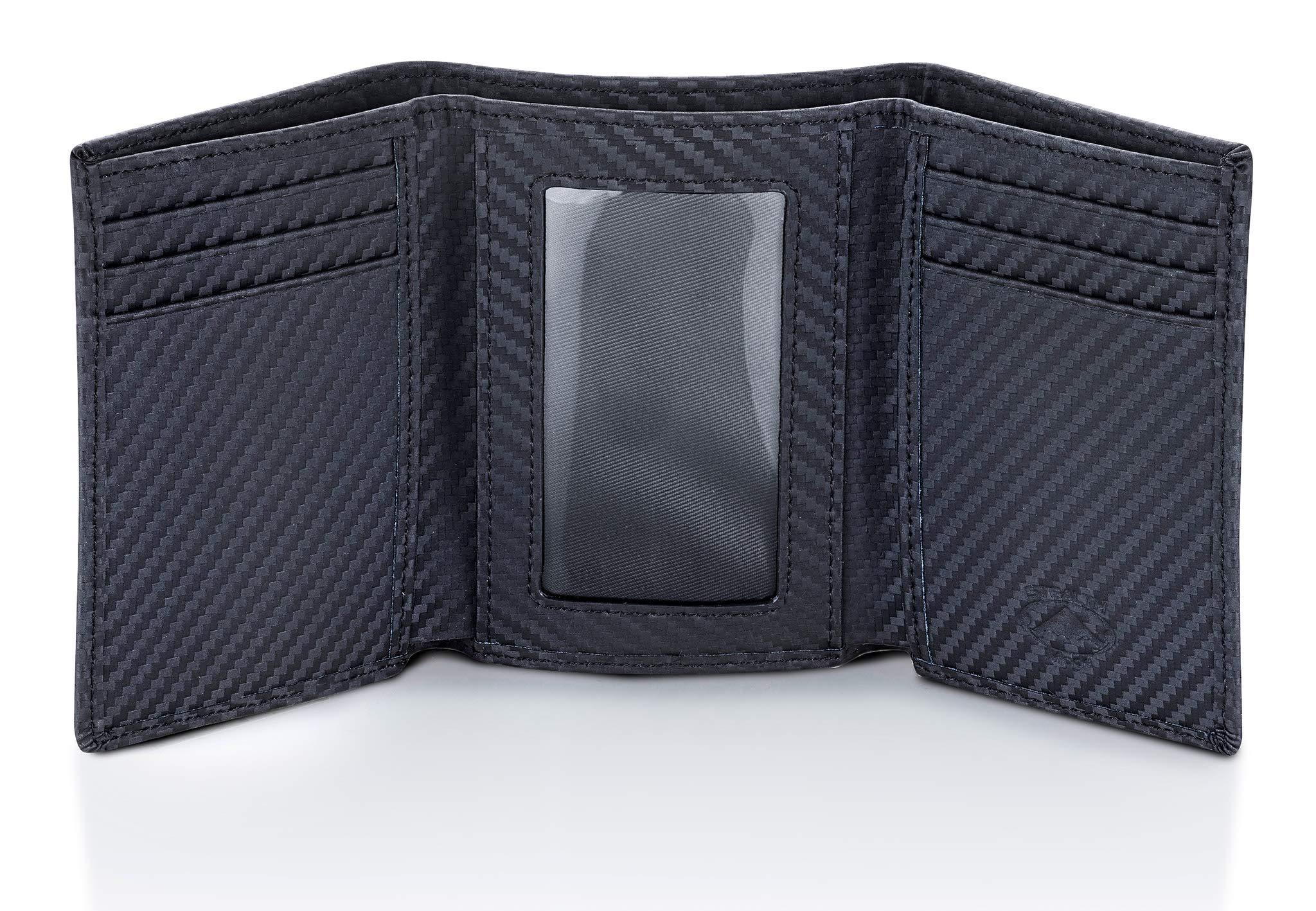 Stealth Mode Trifold RFID Blocking Carbon Fiber Wallet for Men by Stealth Mode (Image #1)