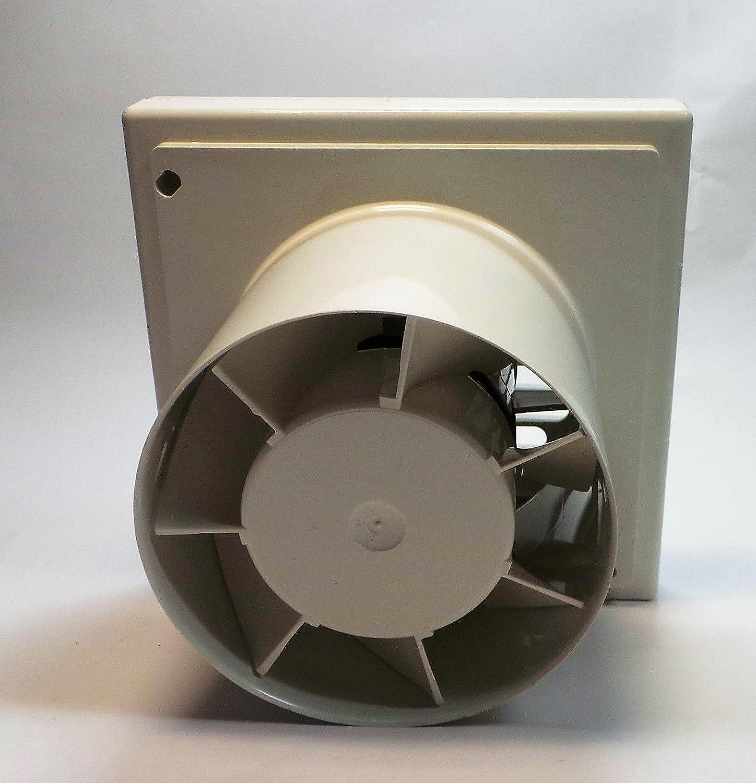 Lüfter Ventilator RUG Timer Bad Küche 100mm 95m³/h 20W: Amazon.de ...