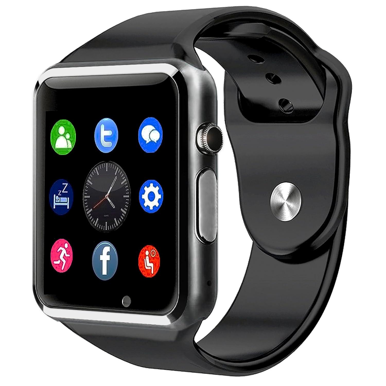 BraceTek Reloj Inteligente Smartwatch Bluetooth  con Camara y Capacidad de batería