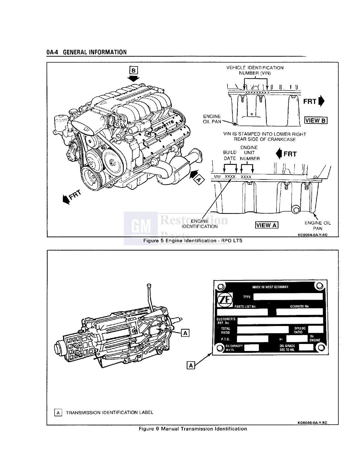 Bishko Automotive Literature 1990 Corvette Shop Service Fire Engine Drivetrain Diagram Repair Manual Book Electrical Oem