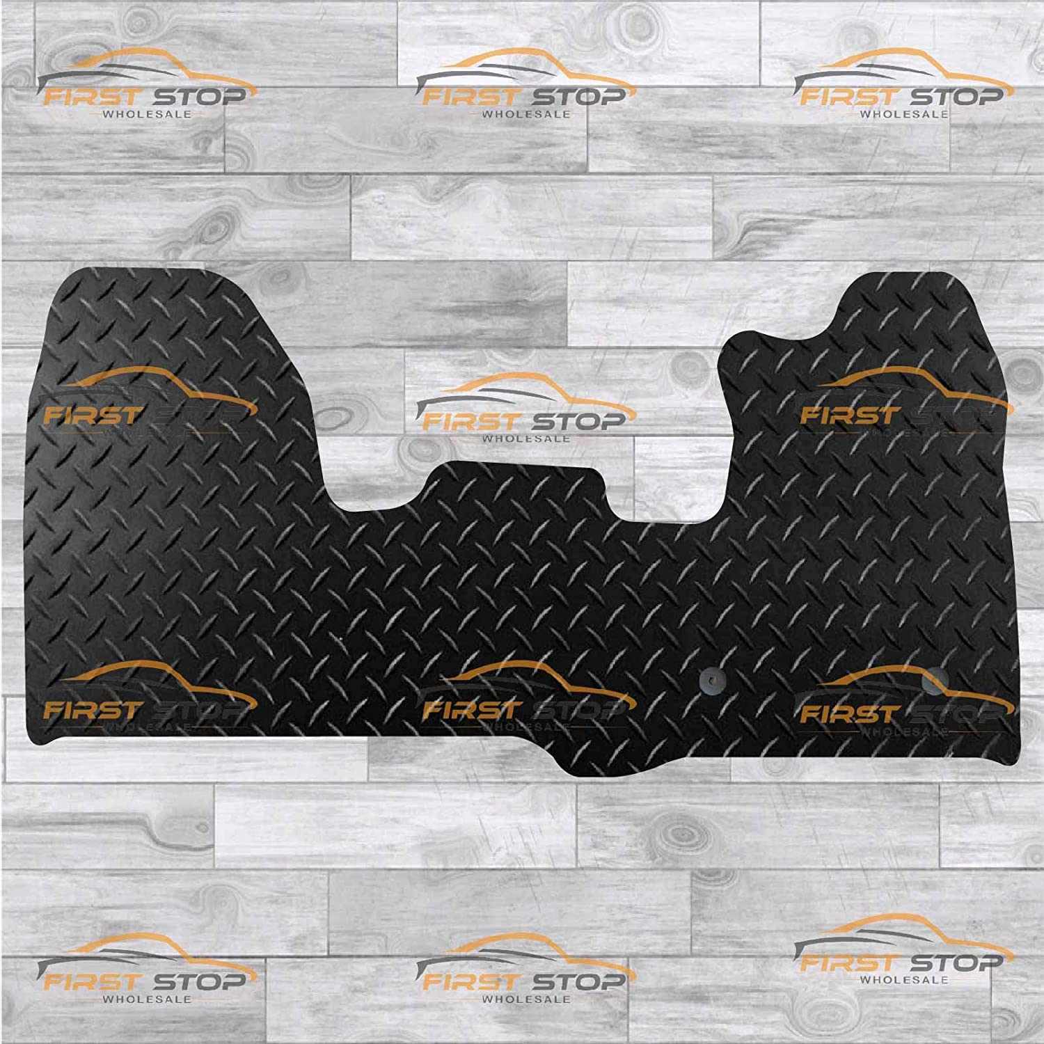 FSW Transit Custom 2013-On Fully Tailored Classic Carpet Car Floor Mats Black