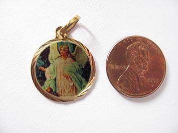 Amazon angels and archangel pendants charms medal guardian angels and archangel pendants charms medal guardian angel st saint michael 229 tiny guardian aloadofball Images
