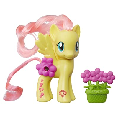 My Little Pony Explore Equestria Magical Scenes Fluttershy: Toys & Games