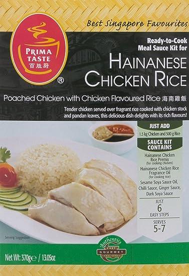 Prima Taste - Kit de salsa lista para Cocinar por Hainanese pollo arroz 370g