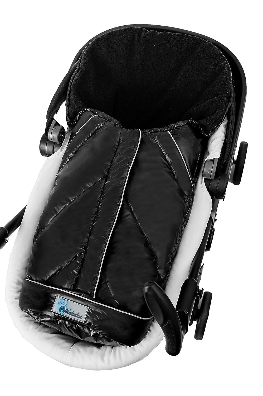 beige Altabebe MT2003D-61 Alaska Daunenfußsack für Babyschale