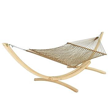 hatteras dc 14ab large duracord rope hammock   antique brown amazon     hatteras dc 14ab large duracord rope hammock      rh   amazon
