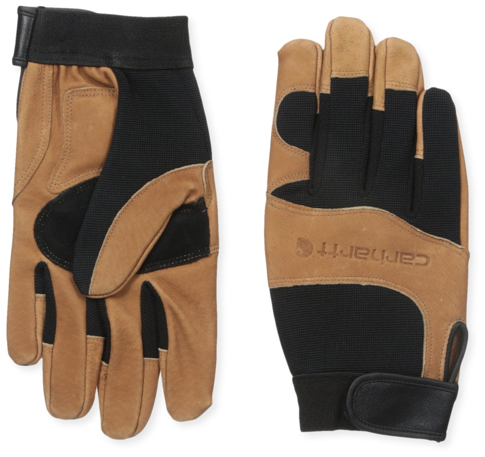 Carhartt Men's The Dex Ii Glove, Black/Barley, Large