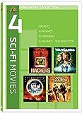 4 Sci-Fi Movies: Hackers / Solarbabies / WarGames / WarGames - The Dead Code