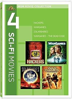 4 Sci-Fi Movies: Hackers / Solarbabies / WarGames / WarGames - The Dead