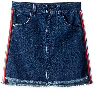 bd39a89ebb Amazon.com: Tommy Hilfiger Girls' Denim Skirt: Clothing
